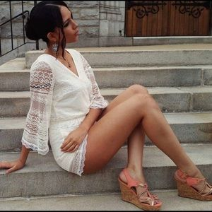 Band of Gypsies lace romper